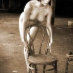 Flo with chair By Walter Spaeth