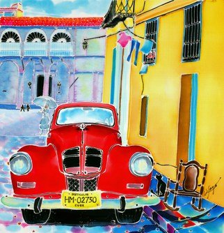 Hisayo Ohta: 'Afternoon in Havana', 2000 Other Painting, Travel. Artist Description:   Cuba                                                                       ...