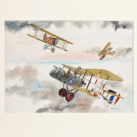 world war one fighter planes  By Rhoda Taylor