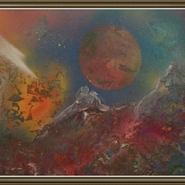 Sherry Evaschuk Artwork Cosmoscape, 2014 Other Painting, Expressionism