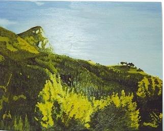 Aurelio Zerla Artwork Breathe, 1991 Oil Painting, Landscape