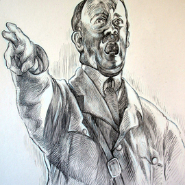 Austen Pinkerton Artwork Adolf, 2007 Other Drawing, Famous People