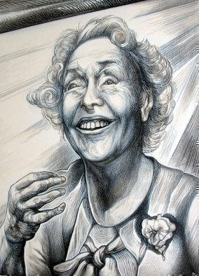 Austen Pinkerton Artwork Helen Keller, 2009 Other Drawing, Portrait