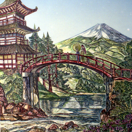 Landscape on a Japanese Theme