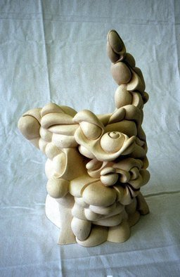 Austen Pinkerton: 'Physician Heal Thyself', 1969 Ceramic Sculpture, Other.