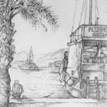 Quay at Gocek By Austen Pinkerton