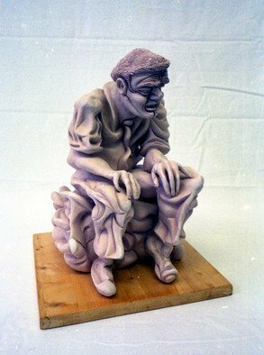 Austen Pinkerton: 'Seated Figure', 1995 Other Ceramics, Undecided.