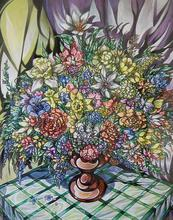 - artwork Vase_of_Flowers-1121619410.jpg - 1998, Painting Acrylic, Still Life