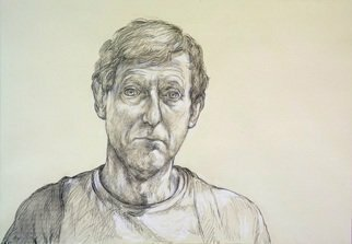 Austen Pinkerton: 'self portrait january 2021', 2021 Graphite Drawing, Portrait. Just felt it was time to do another Self Portrait...