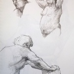 three studies of john By Austen Pinkerton