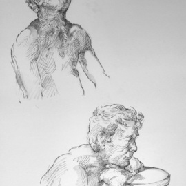 two quick studies of stephen  By Austen Pinkerton