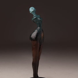 Avril Ward Artwork Earthmother evolution, 2012 Bronze Sculpture, Figurative