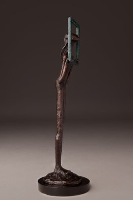 Avril Ward: 'New Day new mercies', 2015 Bronze Sculpture, Figurative.     Limited edition bronze     ...