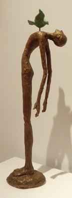 Bronze Sculpture by Avril Ward titled:  And then came peace, 2010