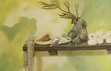 - artwork beach_collectables-1320264139.jpg - 2011, Painting Other, Still Life