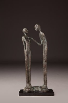 Avril Ward: 'heart strings', 2015 Bronze Sculpture, Figurative.  Limited edition bronze 45 editions ...