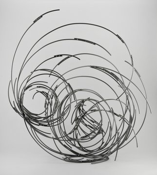 Andrea Waxman Mulcahy Artwork Converging Vortices, 2010 Steel Sculpture, undecided