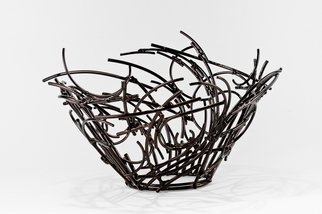 Andrea Waxman Mulcahy: 'Nesting Vessel', 2010 Steel Sculpture, undecided.