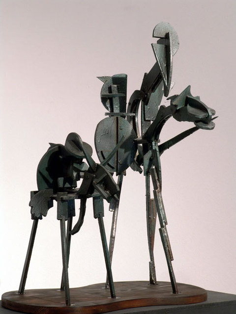 Aykut Oz  'Don Quijote', created in 2004, Original Sculpture Mixed.