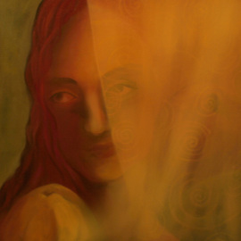 Aylas Art: 'Virgin Dream', 2008 Oil Painting, Figurative. Artist Description:  Dreams is my last project and I have been working on it for 2 years ...