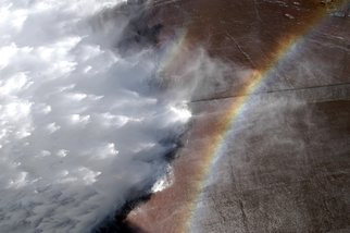 Alessandro Zanazzo: 'unknown rainbows', 2007 Digital Photograph, Ecological. Dam Wall, Africa. print available on paper , different sizes up to 50x70 cm, signed and dated on the back side. ...
