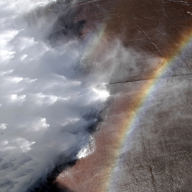 Alessandro Zanazzo: 'unknown rainbows', 2007 Digital Photograph, Ecological. Artist Description: Dam Wall, Africa. print available on paper , different sizes up to 50x70 cm, signed and dated on the back side. ...
