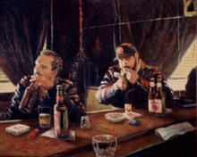 - artwork Liquid_Lunch-1061883552.jpg - 1999, Painting Acrylic, Figurative