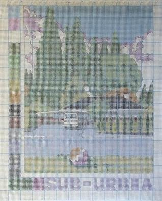 Artist: Gabriella Morrison - Title: Suburbia a Pattern - Medium: Other Painting - Year: 2005