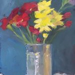 Flowers in Can By Susan Barnes