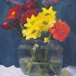Flowers in Glass By Susan Barnes
