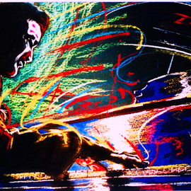 Dave Brubeck painting artwork Piano Man