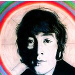 John Lennon painting artwork Imagine By Barry Boobis