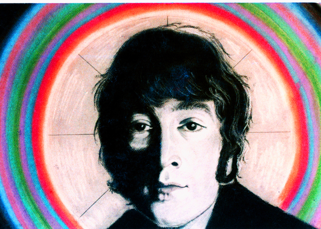 Barry Boobis  'John Lennon Painting Artwork Imagine', created in 2011, Original Painting Oil.