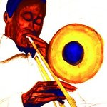 Trombone painting artwork By Barry Boobis