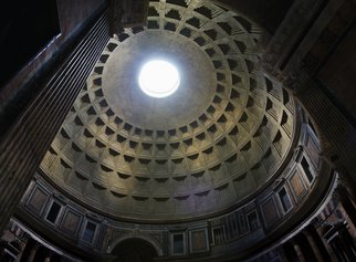 Barry Scharf Artwork Pantheon dome, 2008 ,