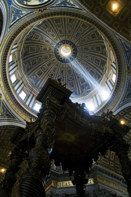 Barry Scharf Artwork St Peters apse Vatican, 2008 , Architecture