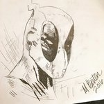 Deadpool Sketch, Molly Barten