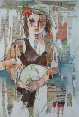 Lesta Frank Artwork Carman, 2011 Mixed Media, Figurative