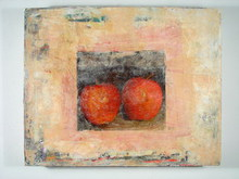 - artwork Red_Apples-1203562709.jpg - 2008, Painting Encaustic, Still Life