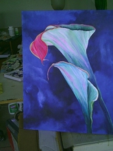 - artwork Calla_Lillies_Acrylic-1212500375.jpg - 2008, Painting Acrylic, Other