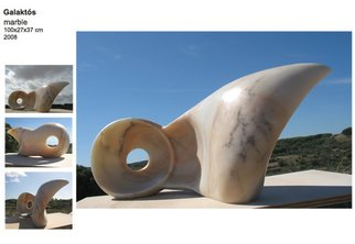 Beatriz Cunha: 'Galaktos', 2007 Stone Sculpture, Abstract.