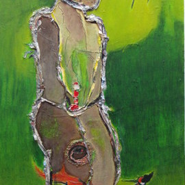 Becky Soria: 'Come what come may', 2012 Other Painting, Abstract Figurative. Artist Description:       From the series Body works