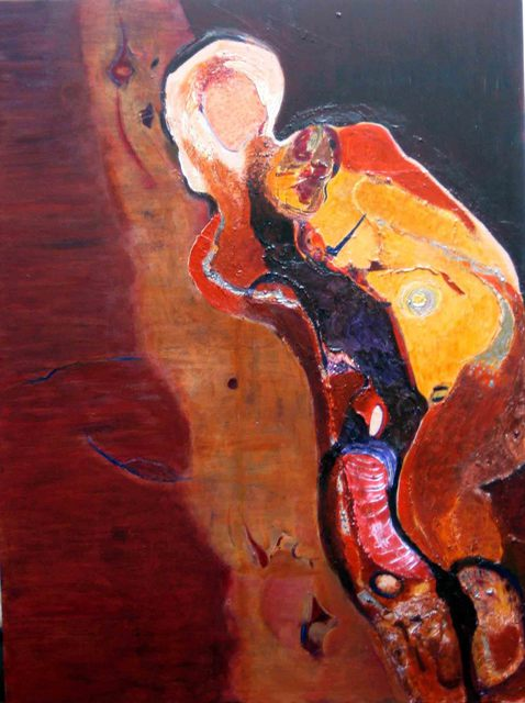 Becky Soria  'Falling', created in 2009, Original Painting Other.