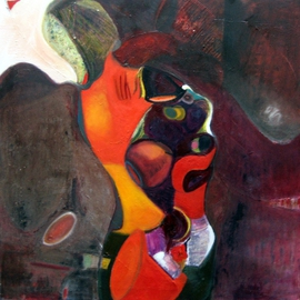 Becky Soria: 'Rhythms we have moved thoughtlessly', 2010 Oil Painting, Abstract Figurative. Artist Description:           from the series Body, Surface, Signs        ...