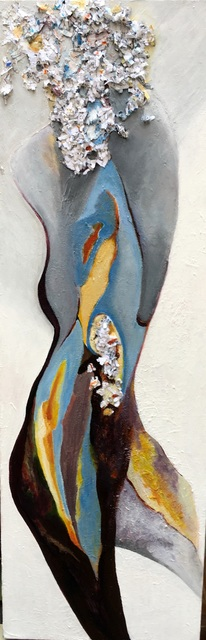 Becky Soria  'Dancing Muse', created in 2020, Original Painting Other.