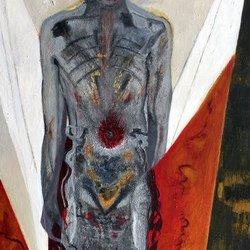 , The Body Electric, Abstract Figurative, Sold