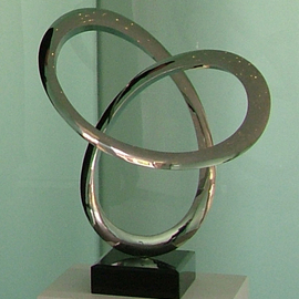 Wenqin Chen: 'Infinity Curve No1', 2006 Steel Sculpture, Abstract. Artist Description: stainless steel sculpture, monumental sculpture, varied commissions available, up scale available, corporate sculpture, public sculpture. ...