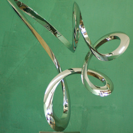 Wenqin Chen Artwork Moving No1, 2012 Steel Sculpture, Abstract