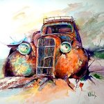 old car By Volha Belevets