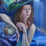 surrealistic painting ohm By Svetlana Belova